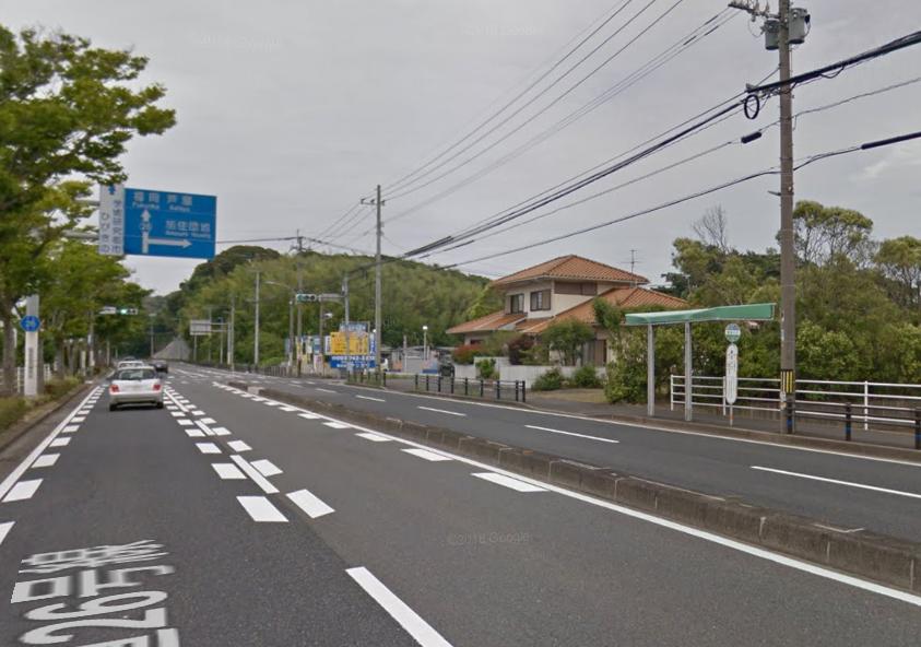 蜑住入口バス停イメージ