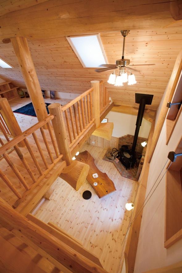 タケモリ一級建築設計事務所が採用するシックハウス症候群を改善する住宅構造材イメージ04