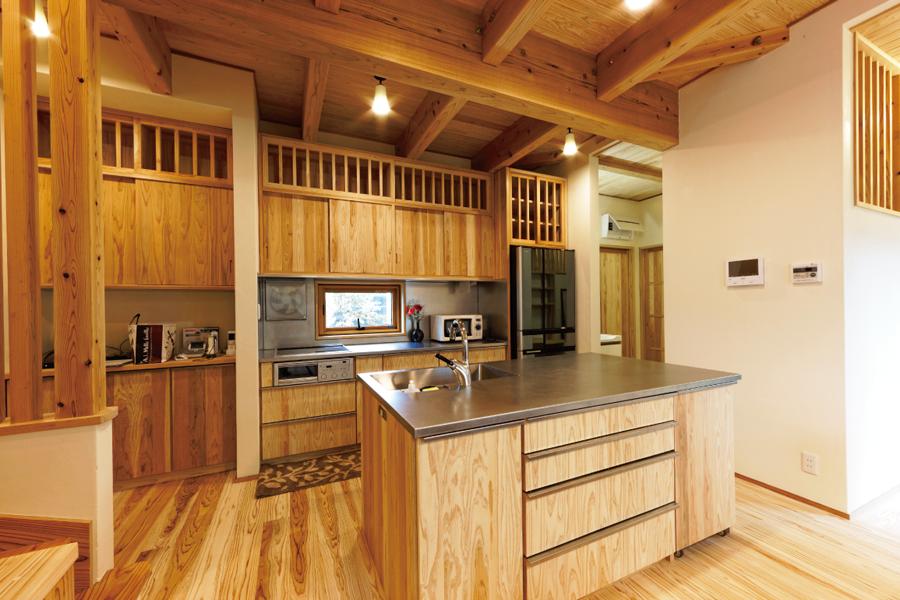 ビオハウジングの自然素材オーダー家具イメージ01