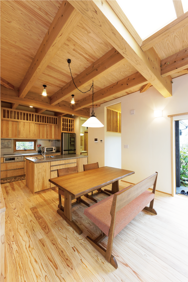 ビオハウジングの自然素材オーダー家具イメージ02